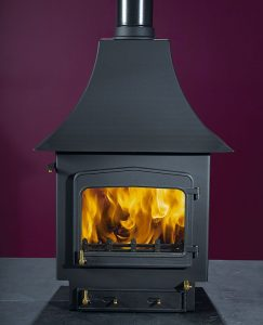 Woodwarm Fireview Slender 10kW