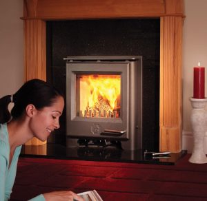 Woodwarm Phoenix Firebright Inset 5kW