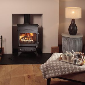 Woodwarm Fireview Slender 5kW